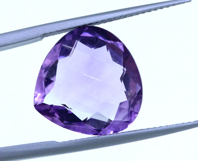 9.5CTS-NATURAL AMETHYST GEMSTONE-GB26