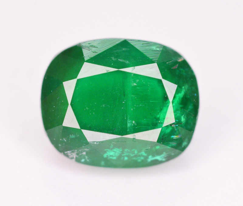 Amazing Color 1.10 Ct Natural Emerald From Swat