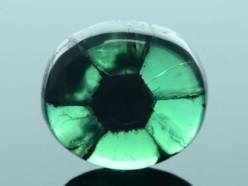AIG Certified AAA Grade 2.98 ct Colombian Trapiche Emerald SKU-30