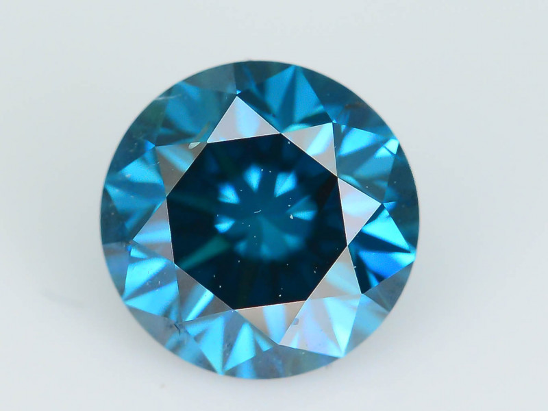 AIG Certified Electric Blue  0.54 ct SI1 Clarity Diamond SKU-12