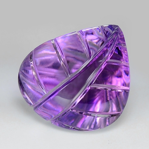 20.58 Ct Carvings Natural Amethyst Top Quality Gemstone. ATC 04