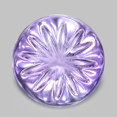 17.11 Ct Carvings Natural Amethyst Top Quality Gemstone. ATC 07