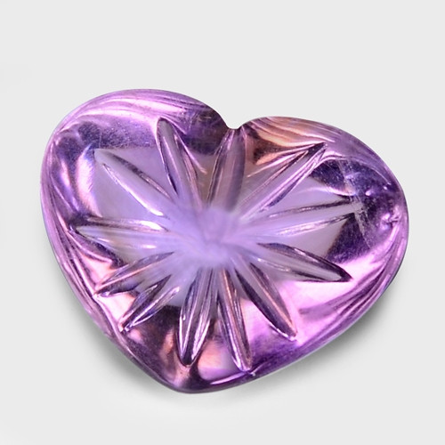 17.66 Ct Carvings Natural Amethyst Top Quality Gemstone. ATC 08