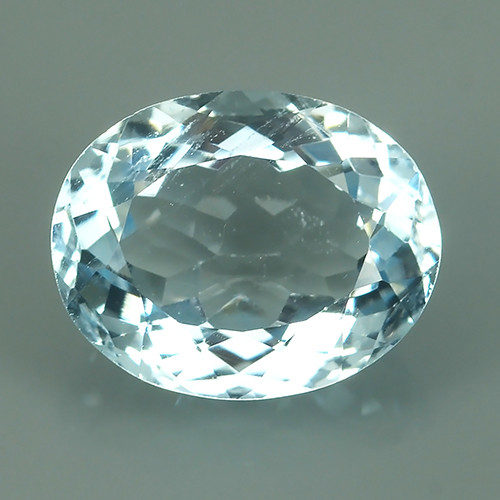 2.05 CTS Fascinating Luster Nice oval Shape Natural Aquamarine
