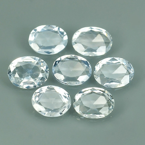 2.30 CTS  BEST QUALITY~TOP WHITE EXTREME WONDER LUSTROUS GENUINE SAPPHIRE!