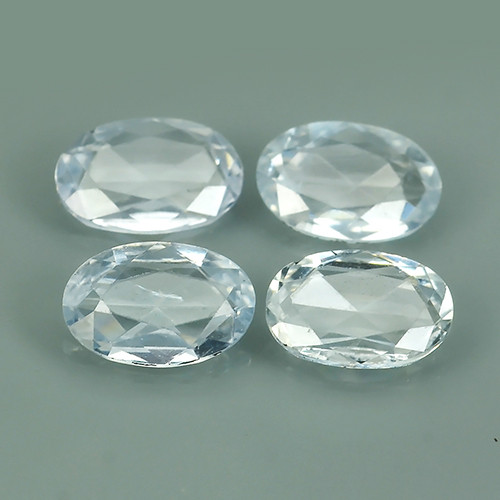 1.65 CTS BEST QUALITY~TOP WHITE EXTREME WONDER LUSTROUS GENUINE SAPPHIRE