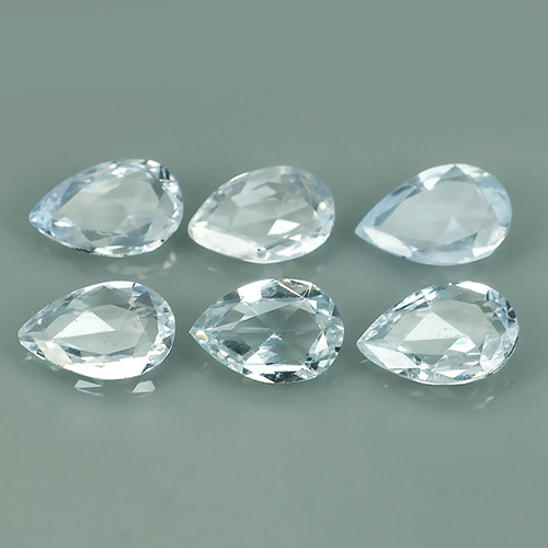 2.05 CTS BEST QUALITY~TOP WHITE EXTREME WONDER LUSTROUS GENUINE SAPPHIRE