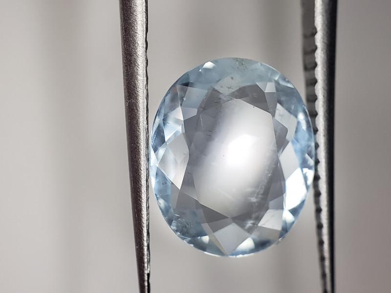 Aquamarine Gemstone Oval 1.9CTS