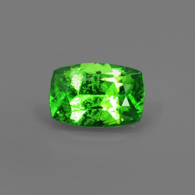 .98CT BRIGHT GREEN WELL CUT NATURAL TSAVORITE GARNET