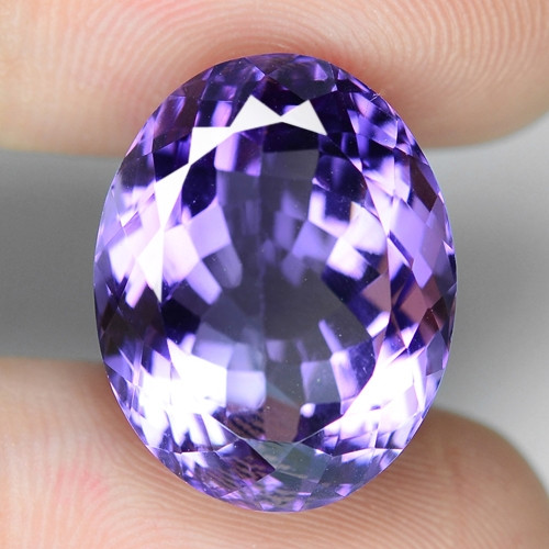 15.69 Cts AMAZING RARE PURPLE PINK AMETHYST LOOSE GEMSTONE