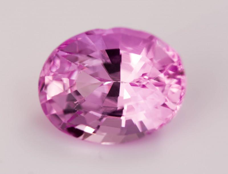 7 x 5 mm Pink Sapphire  1.16 ct  Sri Lanka
