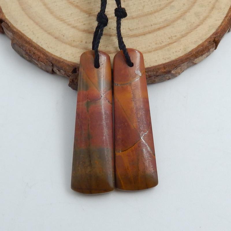 New !! Natural Multi Color Jasper Earrings ,Gemstone Earrings ,Handmade Gem