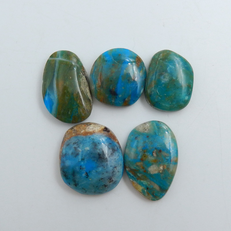 High Quality Blue Opal Gemstone Cabochons Designer Making C756