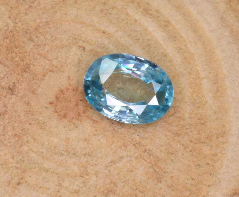 Natural Blue Zircon 1.61 Cts Top Luster Gemstone