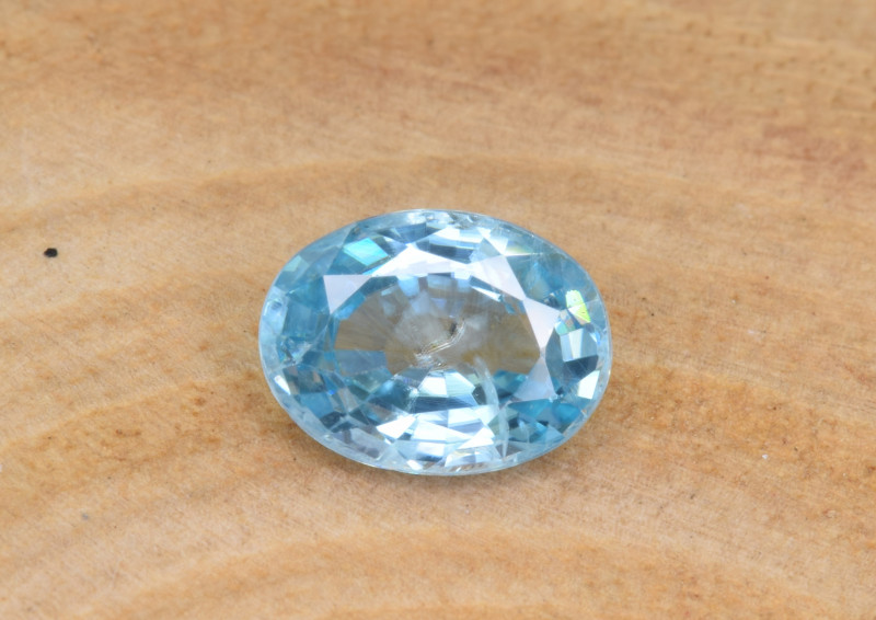 Natural Blue Zircon 1.81 Cts Top Luster Gemstone