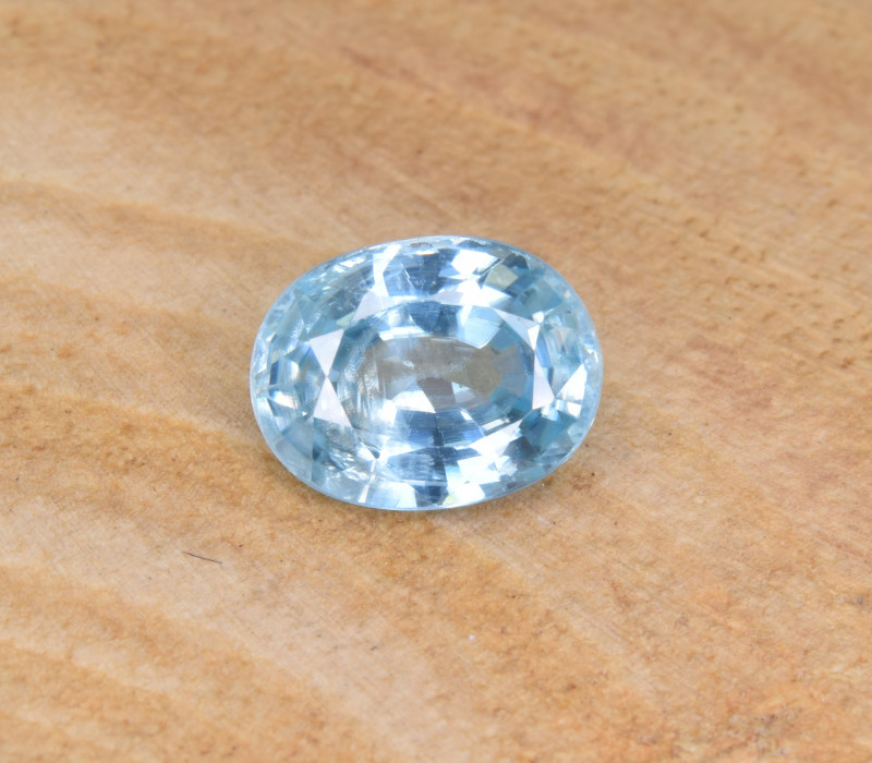 Natural Blue Zircon 2.00 Cts Top Luster Gemstone