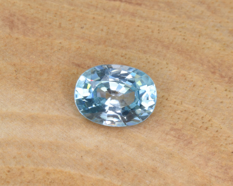 Natural Blue Zircon 2.01 Cts Top Luster Gemstone