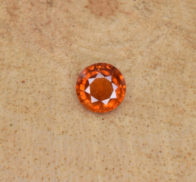 Natural Spessertite Garnet 0.45 Cts