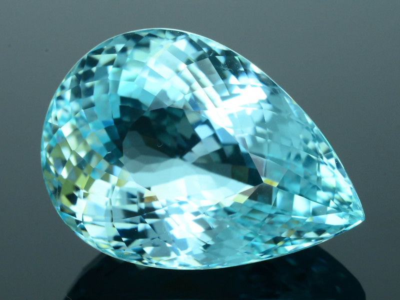 GIA Certified AAA Clarity & Cut 23.23 ct Lagoon Paraiba Tourmaline