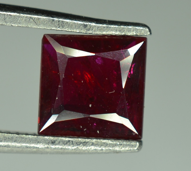 1.10 Cts Stunning Ruby Gemstone  From Mozambique ( Heated )