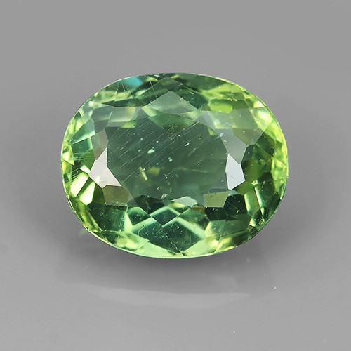 3.45 CTS INVESTMENT GEM - VIP APATITE - NICE GREEN EXCLUSIVE BRAZIL
