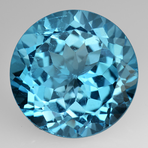 11.28 Ct Topaz Top Cutting Top Luster Gemstone. TP  13