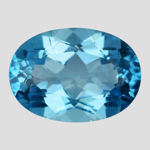 15.67 Ct Topaz Top Cutting Top Luster Gemstone. TP  24