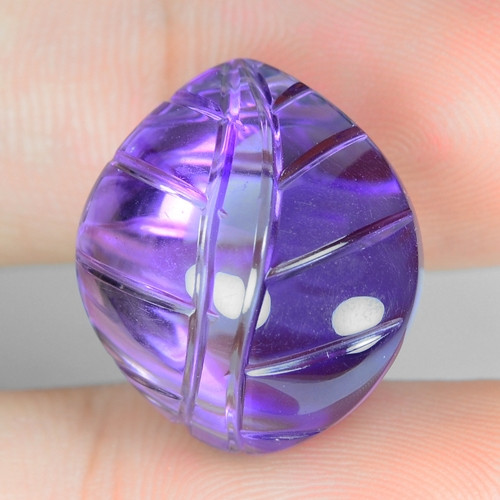 20.63 Ct Carvings Natural Amethyst Top Quality Gemstone. ATC 30
