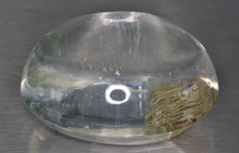 Natural Quartz Cabochon with unique Inclusions 185.6 Cts