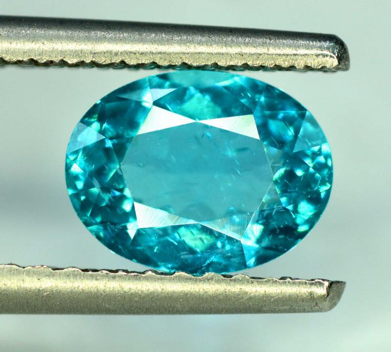 Great Luster 2.40 ct Paraiba Blue Color Apatite Gemstone