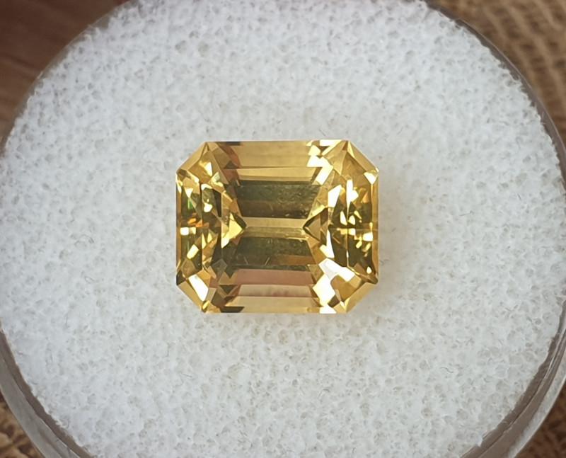 6,40ct Citrine - Emerald cut