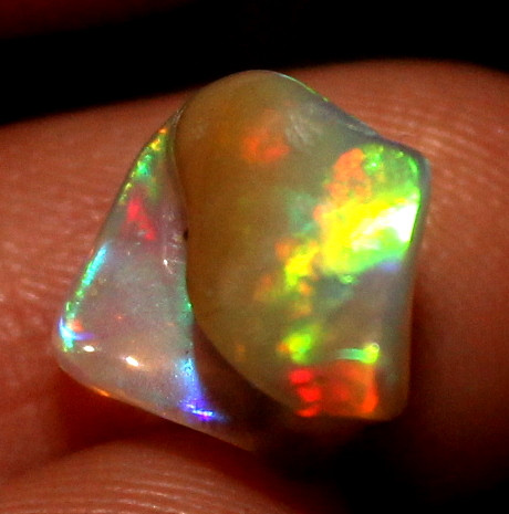 2.80 Crt Natural Ethiopian FreeForm Welo Fire Opal Carvin 799