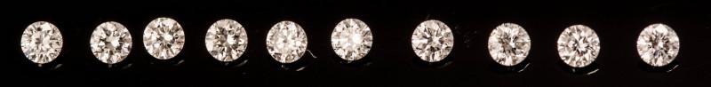 1.50 mm  VS2/D-G 0.13 ct Diamond GPC Lab Real description