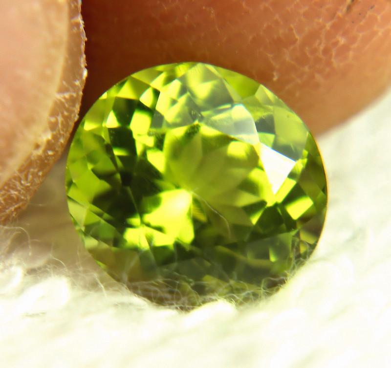 3.20 Carat Himalayan Green VS Peridot - Gorgeous