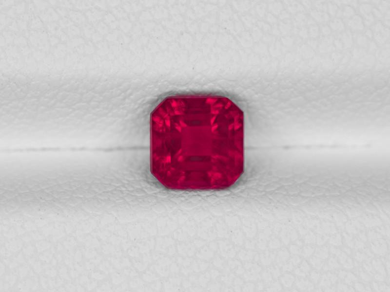 Bixbite, 0.69ct - Mined in USA | Certified by GRS