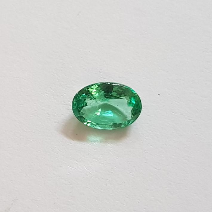 1 carat oval Emerald #Eme0004