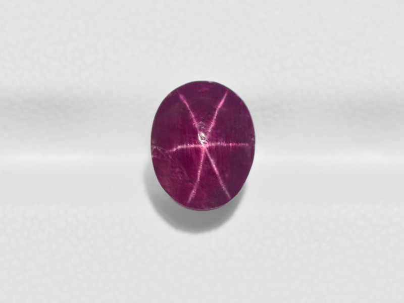 Star Ruby, 5.26ct - Mined in India | Certified by IGI