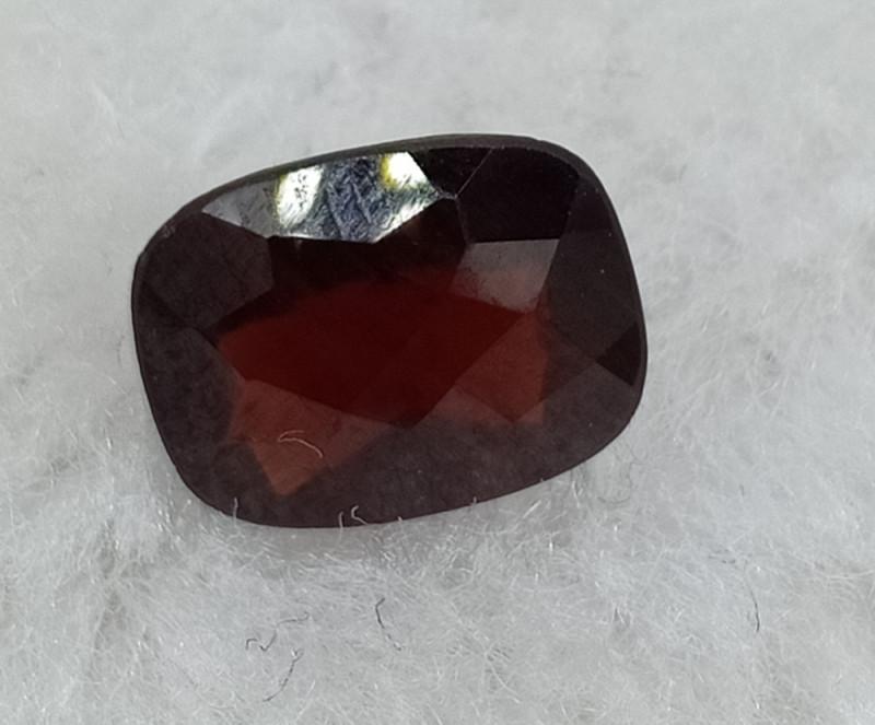 10x8mm Natural Garnet Checkered Gemstone UnTreated VAF74