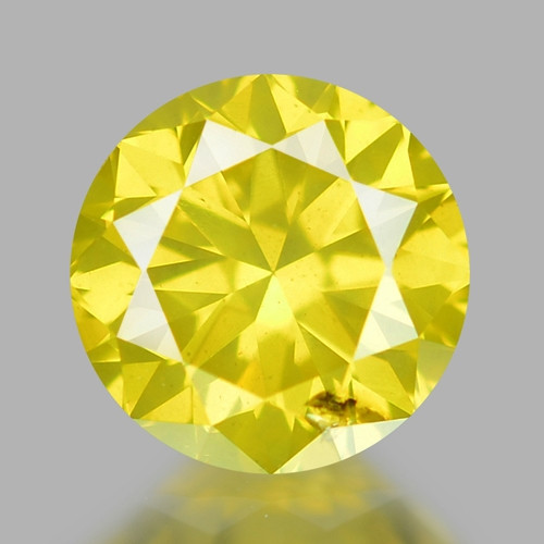 0 40 Ct Yellow Diamond Awesome Luster Gemstone D5