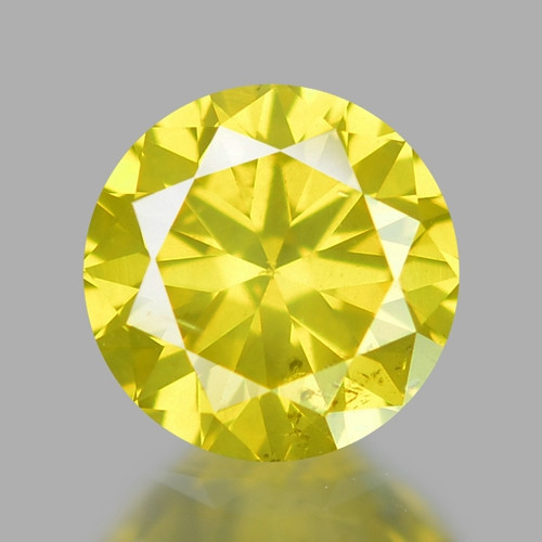 0.31 Ct Yellow Diamond Awesome Luster Gemstone D8