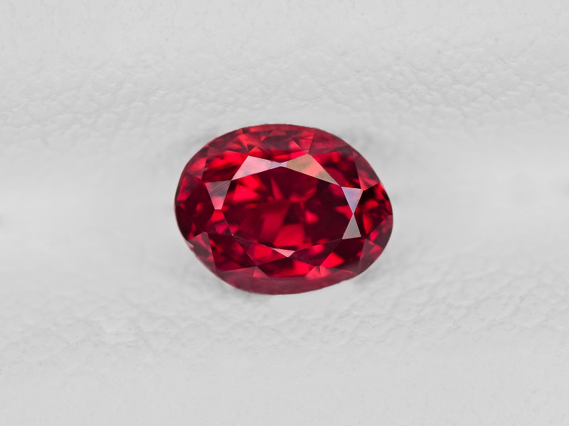 Ruby, 0.63ct - Mined in Mozambique | Certified by IGI