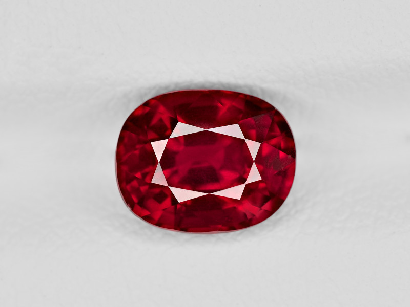 Ruby, 2.00ct - Mined in Mozambique | Certified by GRS