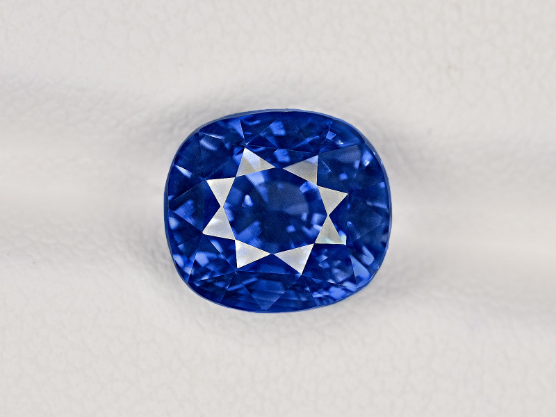 Blue Sapphire, 5.90ct - Mined in Kashmir | Certified by GIA