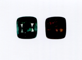 3.30 ct GIA Certified Color Change Unheated Sapphire