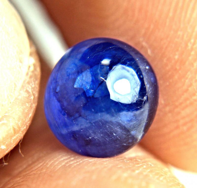 4.85 Carat Blue Sapphire Cabochon - Gorgeous