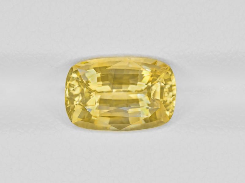 Yellow Sapphire, 3.15ct - Mined in Sri Lanka | Certified by IGI