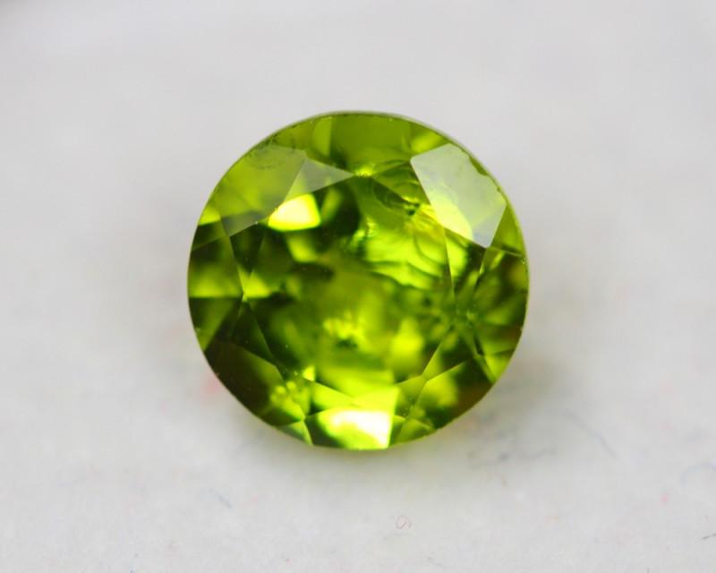 3.06Ct Natural Green Peridot Round Cut Lot Z380