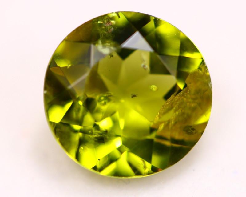 4.09Ct Natural Green Peridot Round Cut Lot LZ6368