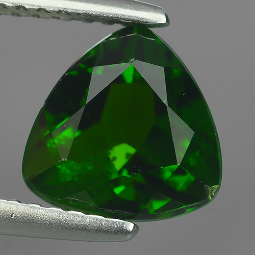 2.30 CTS NATURAL ULTRA RARE CHROME TOP GREEN DIOPSIDE RUSSIA~TRI