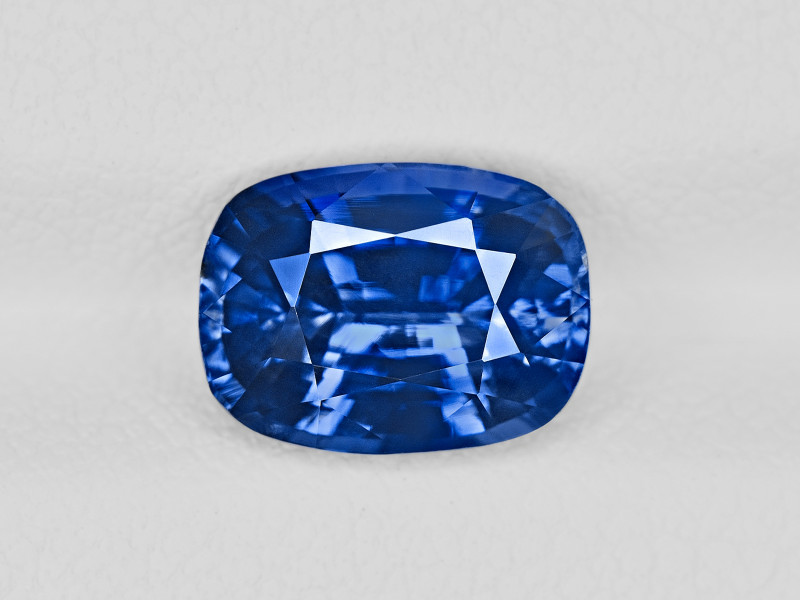 Blue Sapphire, 3.51ct - Mined in Kashmir | Certified by GIA & IGI